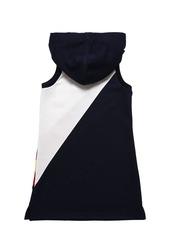 Ralph Lauren Hooded Cotton Sweatshirt Dress