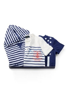 Ralph Lauren Hoodie, Henley & Tee Gift Set