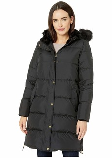 Ralph Lauren Horizontal Heavy Down w/ Flap Pockets Puffer Coat