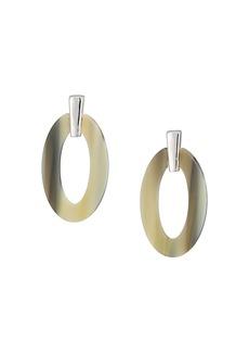 Ralph Lauren Horn Link Drop Earrings