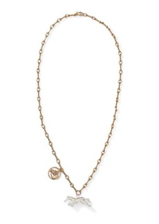 Ralph Lauren Horse Charm Necklace