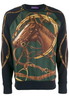 Ralph Lauren horse-print sweatshirt