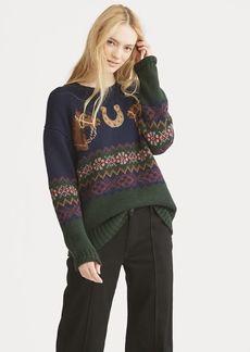 Ralph Lauren Horseshoe Fair Isle Sweater