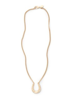 Ralph Lauren Horseshoe Pendant Necklace