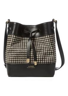 Ralph Lauren Houndstooth Debby II Bag