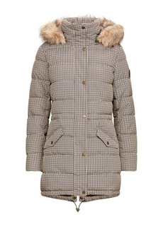 Ralph Lauren Houndstooth Quilted Jacket
