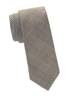 Ralph Lauren Houndstooth Silk Tie