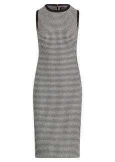 Ralph Lauren Houndstooth Sleeveless Dress