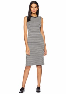 Ralph Lauren Houndstooth Sleeveless Dress