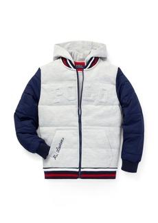 Ralph Lauren Hybrid Baseball Jacket