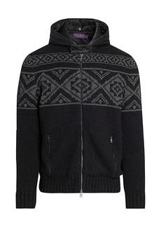 Ralph Lauren Hybrid Pattern Cashmere Sweater