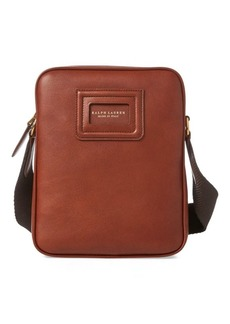 Ralph Lauren ID Badge Leather Crossbody Bag