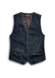 Ralph Lauren Indigo Corduroy Vest