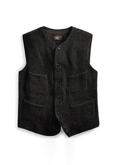 Ralph Lauren Snap-Front Sweater Vest