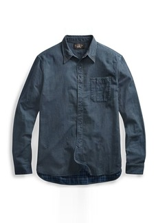Ralph Lauren Indigo Striped Workshirt