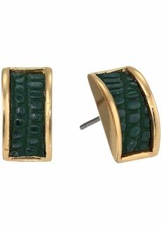 Ralph Lauren Inlay Stud Earrings