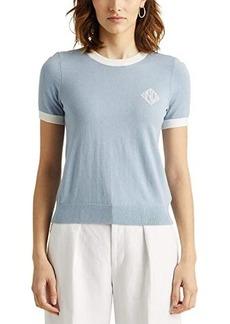 Ralph Lauren Intarsia-Knit Cotton-Modal Sweater