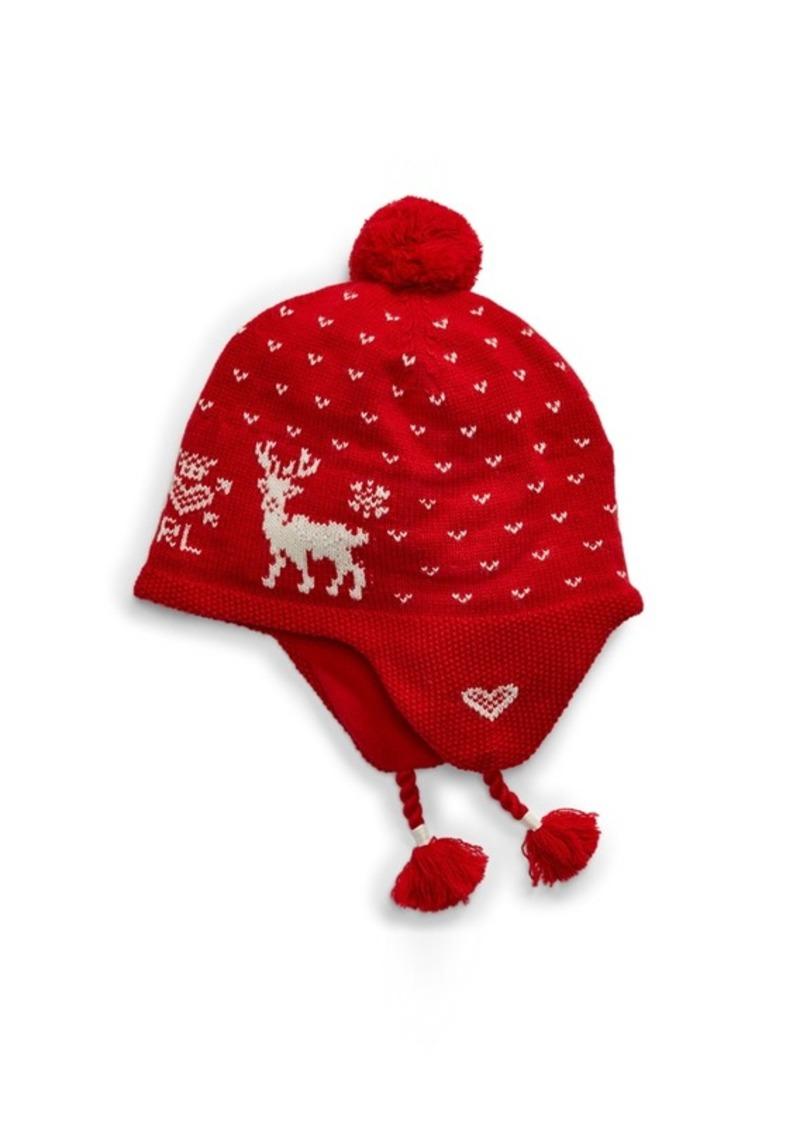 Ralph Lauren Intarsia-Knit Wool-Blend Hat