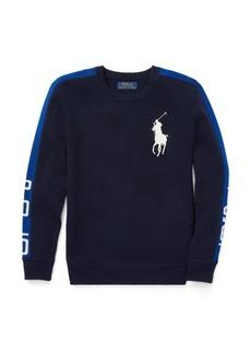 Ralph Lauren Intarsia Merino Wool Sweater