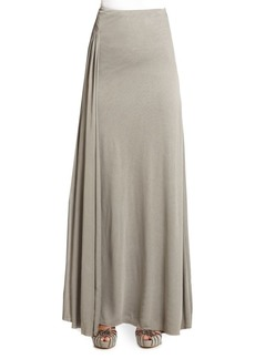 Ralph Lauren Jacinda Mesh Jersey Maxi Skirt