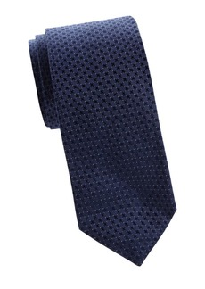 Ralph Lauren Jacquard Dotted Silk Tie