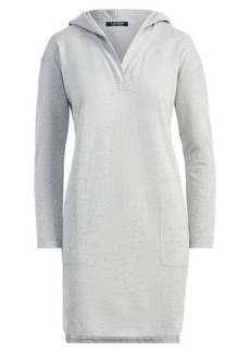 Ralph Lauren Jacquard-Knit Hooded Nightgown