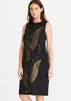 Ralph Lauren Jacquard Shift Dress