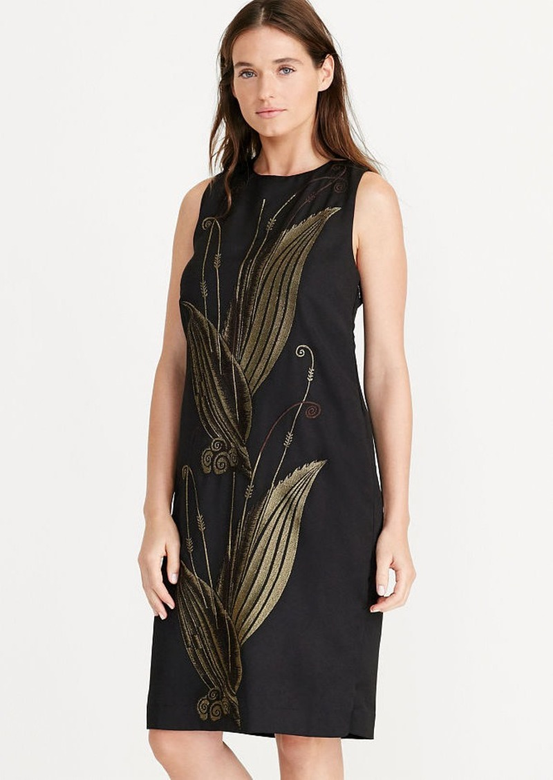 Ralph Lauren Jacquard Shift Dress