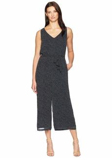 Ralph Lauren Jacy Auburn Spaced Dot Jumpsuit