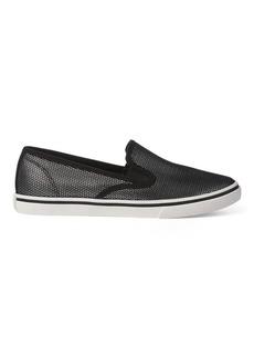 Ralph Lauren Janis Metallic Slip-On Sneaker