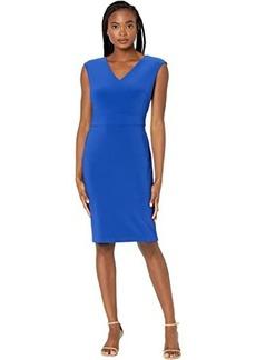 Ralph Lauren Jannette Cap Sleeve Day Dress