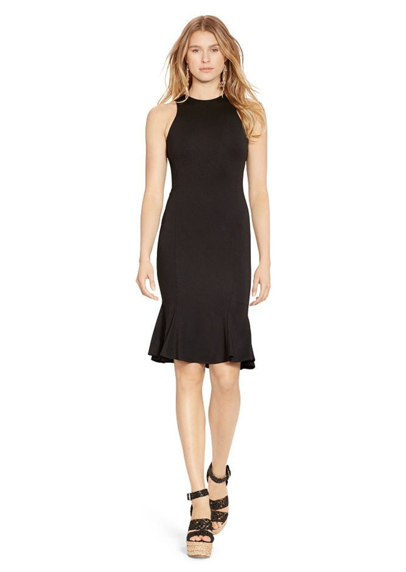 Ralph Lauren Jersey Fit-and-Flare Dress