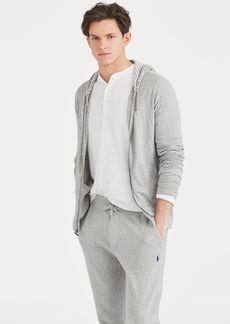 Ralph Lauren Jersey Full-Zip Hoodie
