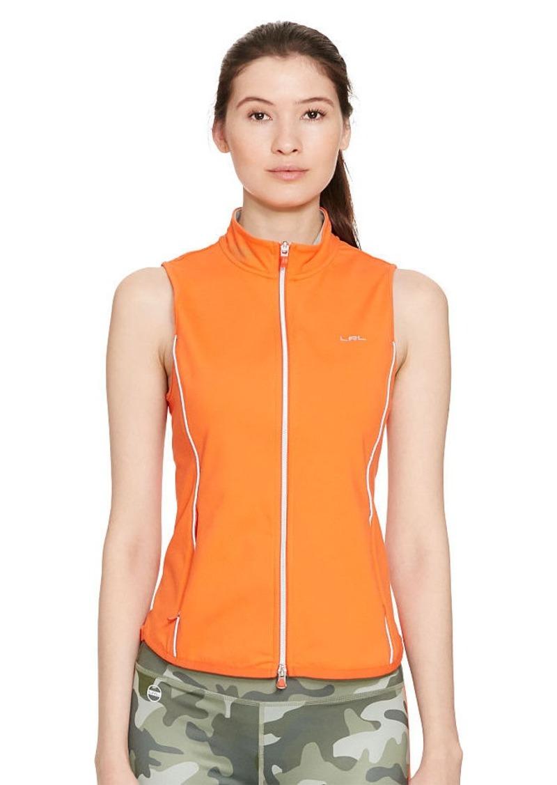 Ralph Lauren Jersey Full-Zip Vest
