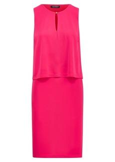 Ralph Lauren Jersey Keyhole Dress