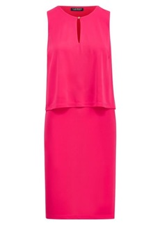 Jersey Keyhole Dress