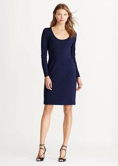 Jersey Scoopneck Dress