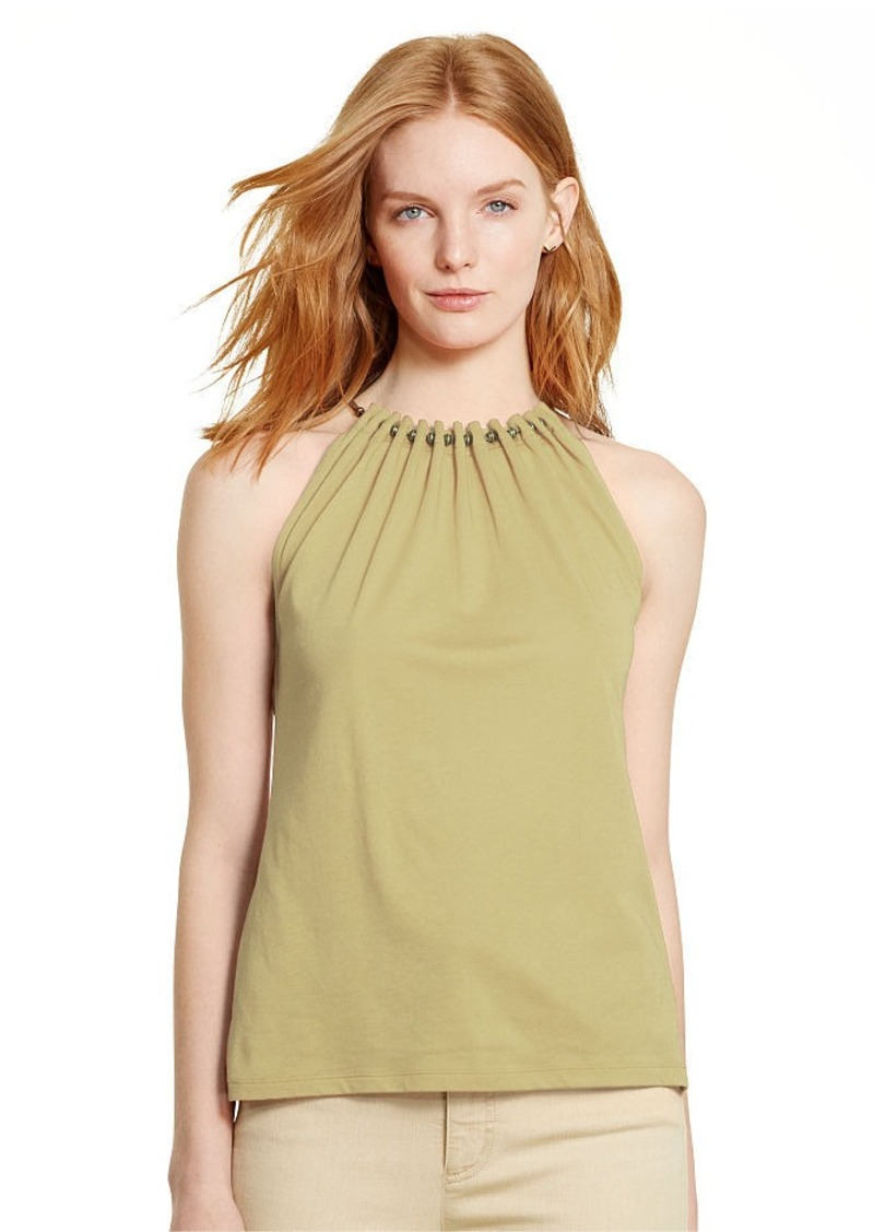 Ralph Lauren Jersey Sleeveless Top
