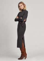 Ralph Lauren Jersey Turtleneck Dress