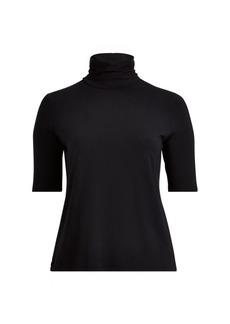 Ralph Lauren Jersey Turtleneck Shirt
