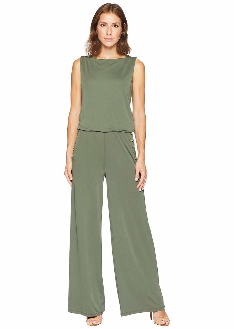 ae1787026fb On Sale today! Ralph Lauren Jersey Wide-Leg Jumpsuit