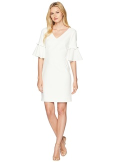 Ralph Lauren Jordana Short Sleeve Day Dress