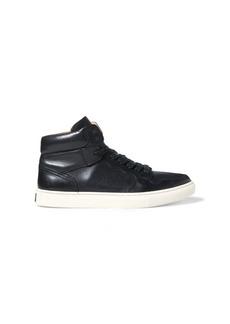 Ralph Lauren Jory Calfskin High-Top Sneaker