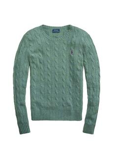 Ralph Lauren: Polo Julianna Crewneck Cable Knit Sweater