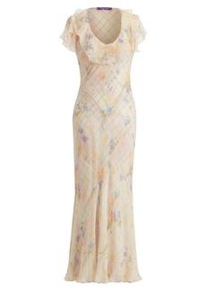 Juliette Floral Plaid Dress
