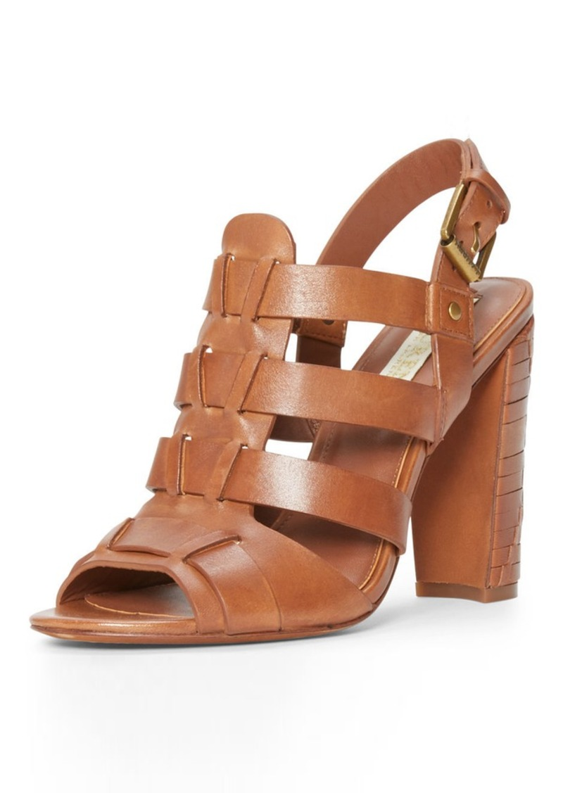 Ralph Lauren Kalie Leather Sandal