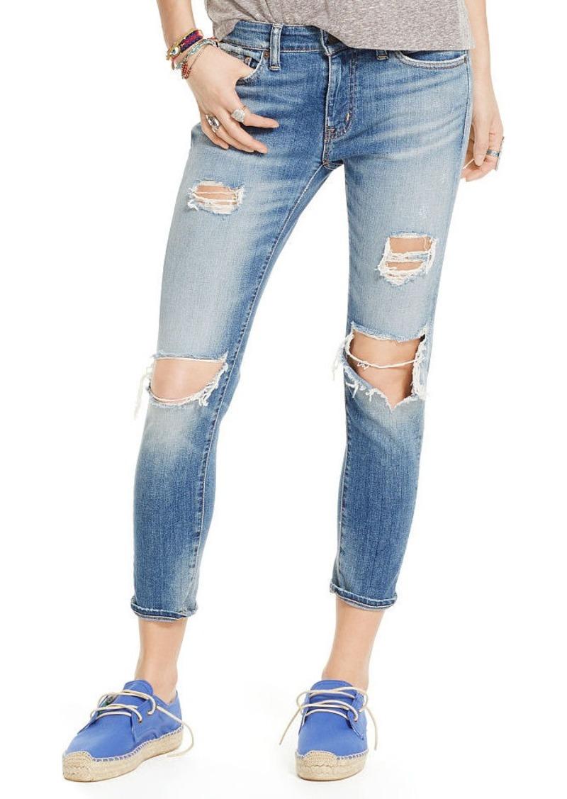 Ralph Lauren Kayla Cropped Skinny Jean