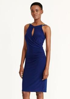 Keyhole Jersey Dress