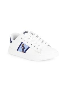 Ralph Lauren Kid's Quilton Bear Sneakers
