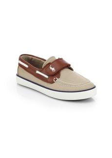 Ralph Lauren Kid's Sander Grip-Tape Boat Shoes